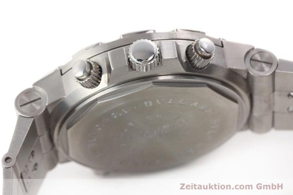 Used luxury watch Bvlgari Scuba chronograph steel automatic Kal. TEEM 312 Ref. SD38SGMT  | 141609 11