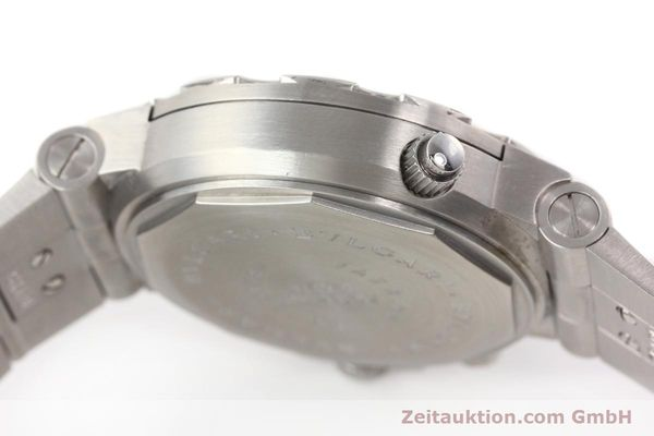 Used luxury watch Bvlgari Scuba chronograph steel automatic Kal. TEEM 312 Ref. SD38SGMT  | 141609 12