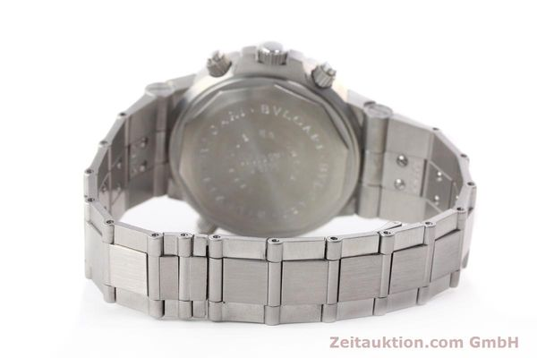 Used luxury watch Bvlgari Scuba chronograph steel automatic Kal. TEEM 312 Ref. SD38SGMT  | 141609 13