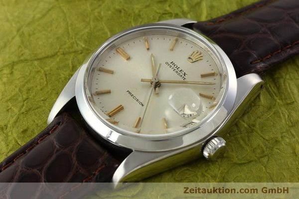Used luxury watch Rolex Precision steel manual winding Kal. 1225 Ref. 6694  | 141611 01
