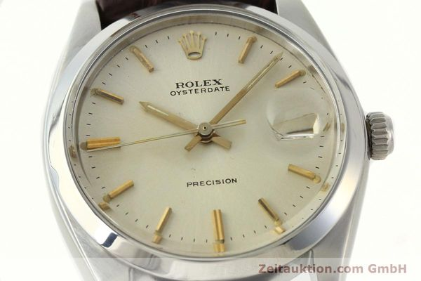 Used luxury watch Rolex Precision steel manual winding Kal. 1225 Ref. 6694  | 141611 02