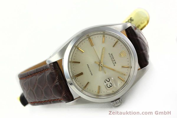 Used luxury watch Rolex Precision steel manual winding Kal. 1225 Ref. 6694  | 141611 03