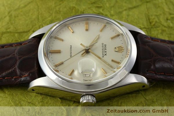 Used luxury watch Rolex Precision steel manual winding Kal. 1225 Ref. 6694  | 141611 05