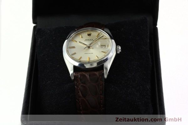Used luxury watch Rolex Precision steel manual winding Kal. 1225 Ref. 6694  | 141611 07