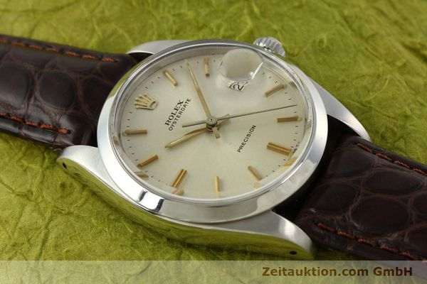 Used luxury watch Rolex Precision steel manual winding Kal. 1225 Ref. 6694  | 141611 13