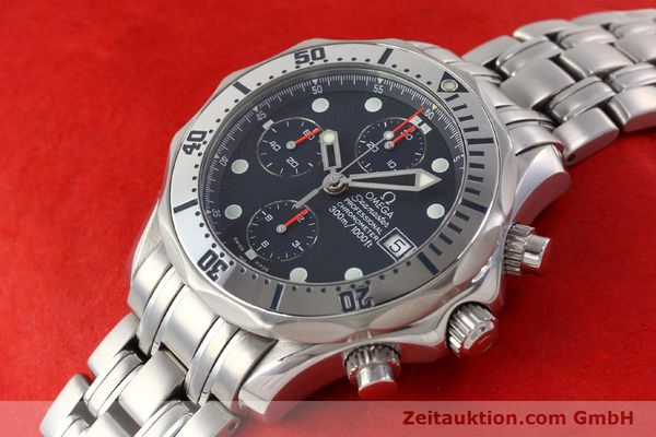 Used luxury watch Omega Seamaster steel automatic Kal. 1164 Ref. 25988000  | 141613 01
