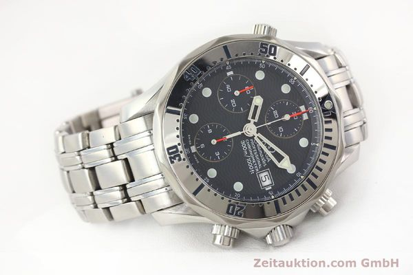 Used luxury watch Omega Seamaster steel automatic Kal. 1164 Ref. 25988000  | 141613 03