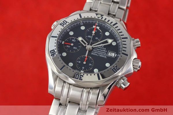 Used luxury watch Omega Seamaster steel automatic Kal. 1164 Ref. 25988000  | 141613 04