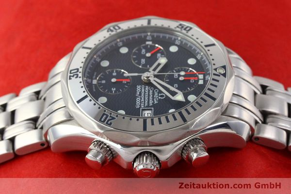 Used luxury watch Omega Seamaster steel automatic Kal. 1164 Ref. 25988000  | 141613 05