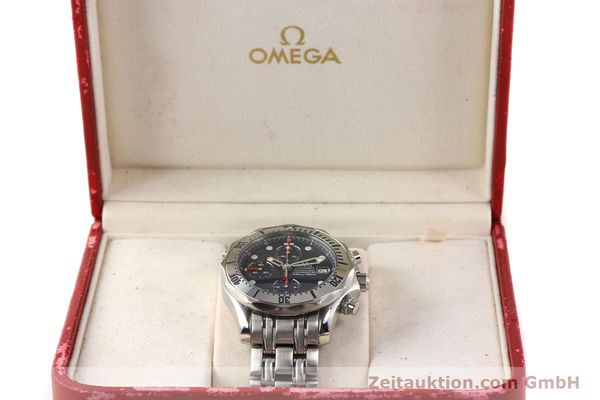 Used luxury watch Omega Seamaster steel automatic Kal. 1164 Ref. 25988000  | 141613 07