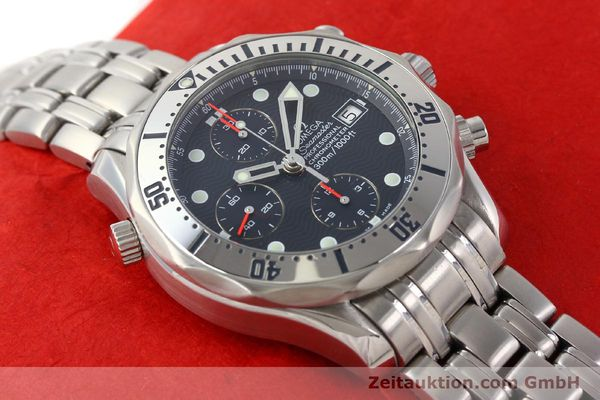Used luxury watch Omega Seamaster steel automatic Kal. 1164 Ref. 25988000  | 141613 18