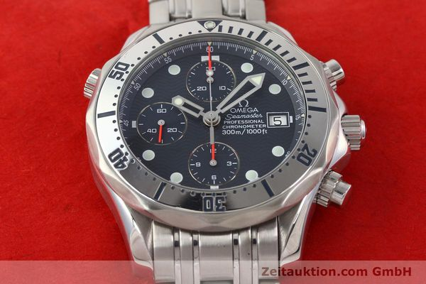 Used luxury watch Omega Seamaster steel automatic Kal. 1164 Ref. 25988000  | 141613 19