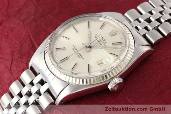 Used luxury watch Rolex Datejust steel / gold automatic Kal. 1570 Ref. 1601  | 141615 01
