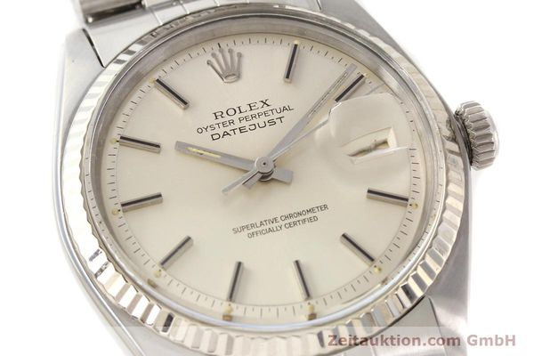 Used luxury watch Rolex Datejust steel / gold automatic Kal. 1570 Ref. 1601  | 141615 02