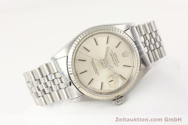 Used luxury watch Rolex Datejust steel / gold automatic Kal. 1570 Ref. 1601  | 141615 03