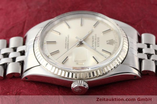 Used luxury watch Rolex Datejust steel / gold automatic Kal. 1570 Ref. 1601  | 141615 05