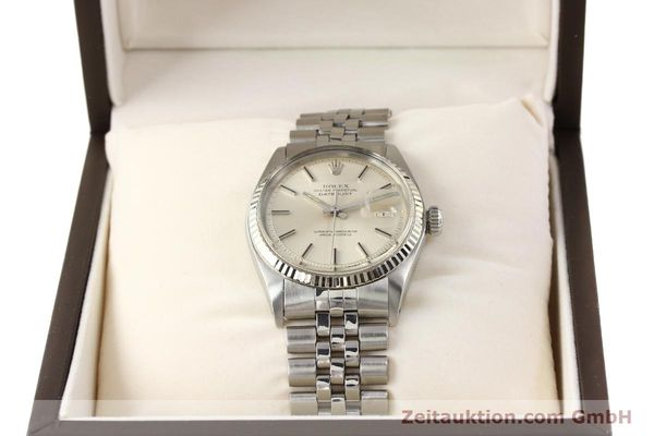 Used luxury watch Rolex Datejust steel / gold automatic Kal. 1570 Ref. 1601  | 141615 07