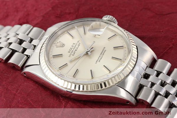 Used luxury watch Rolex Datejust steel / gold automatic Kal. 1570 Ref. 1601  | 141615 14