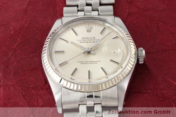 Used luxury watch Rolex Datejust steel / gold automatic Kal. 1570 Ref. 1601  | 141615 15