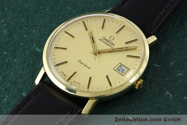 montre de luxe d occasion Omega * or jaunen 14 ct automatique Kal. 1012 Ref. 1627C38  | 141620 01
