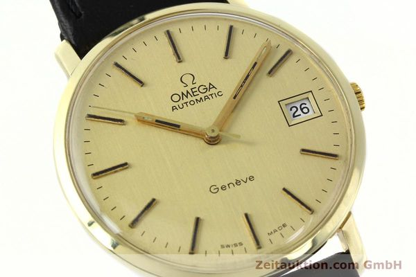 montre de luxe d occasion Omega * or jaunen 14 ct automatique Kal. 1012 Ref. 1627C38  | 141620 02