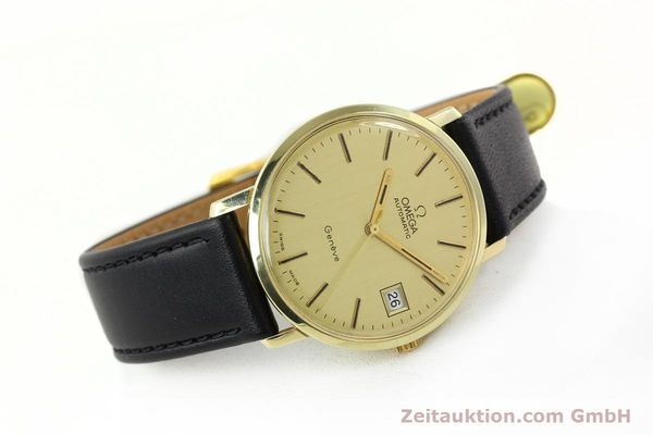 montre de luxe d occasion Omega * or jaunen 14 ct automatique Kal. 1012 Ref. 1627C38  | 141620 03