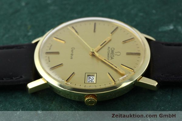 montre de luxe d occasion Omega * or jaunen 14 ct automatique Kal. 1012 Ref. 1627C38  | 141620 05
