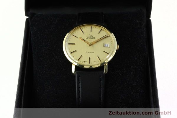 montre de luxe d occasion Omega * or jaunen 14 ct automatique Kal. 1012 Ref. 1627C38  | 141620 07