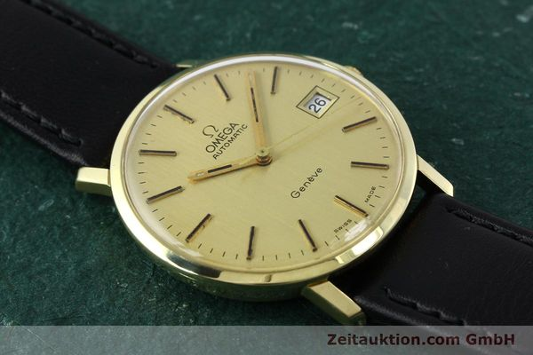 montre de luxe d occasion Omega * or jaunen 14 ct automatique Kal. 1012 Ref. 1627C38  | 141620 13