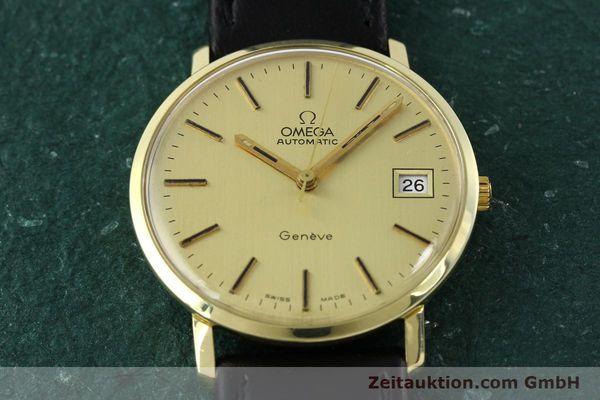 montre de luxe d occasion Omega * or jaunen 14 ct automatique Kal. 1012 Ref. 1627C38  | 141620 14