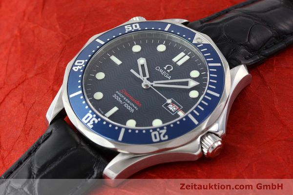 Used luxury watch Omega Seamaster steel quartz Kal. 1538  | 141621 01