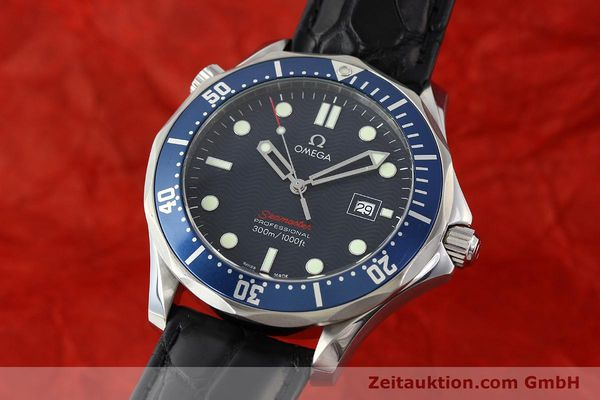 Used luxury watch Omega Seamaster steel quartz Kal. 1538  | 141621 04
