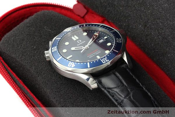 Used luxury watch Omega Seamaster steel quartz Kal. 1538  | 141621 07