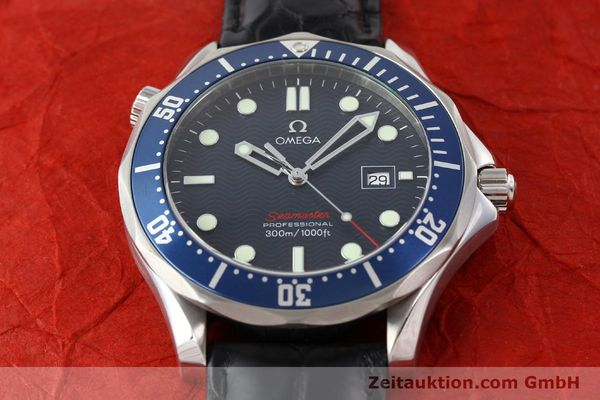 Used luxury watch Omega Seamaster steel quartz Kal. 1538  | 141621 15