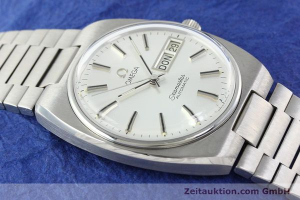 Used luxury watch Omega Seamaster steel automatic Kal. 1020 Ref. 1660216.3/3660848.3  | 141622 12