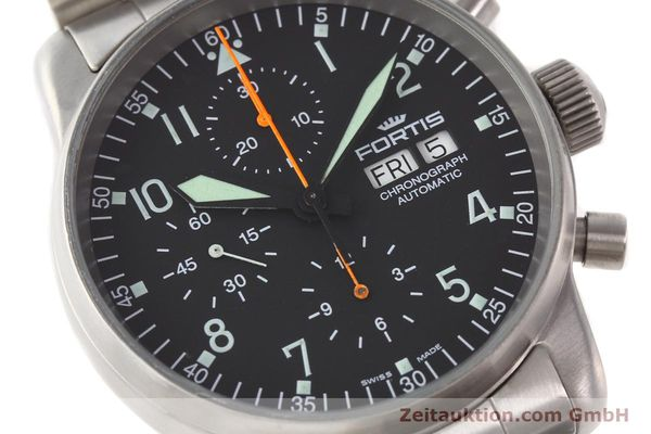 Used luxury watch Fortis Flieger steel automatic Kal. ETA 7750 Ref. 597.10.141  | 141625 02