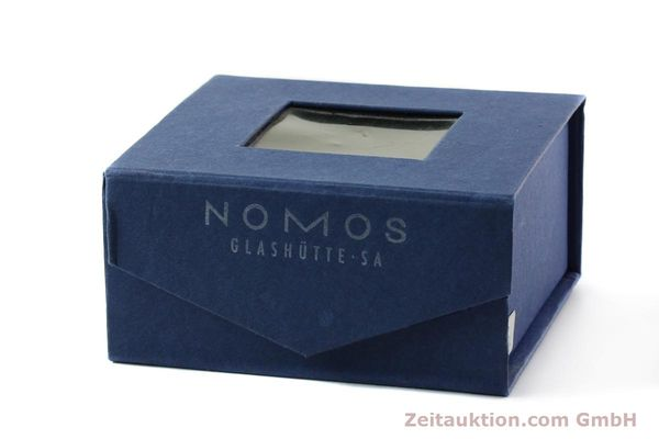 Used luxury watch Nomos Tangente steel manual winding Kal. ETA 7001  | 141627 06