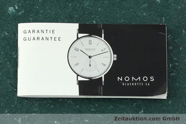 Used luxury watch Nomos Tangente steel manual winding Kal. ETA 7001  | 141627 08
