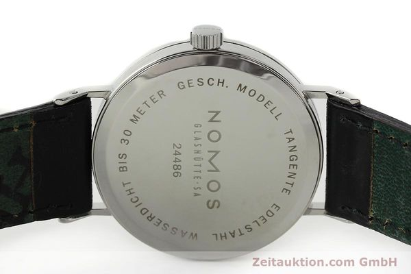 Used luxury watch Nomos Tangente steel manual winding Kal. ETA 7001  | 141627 09
