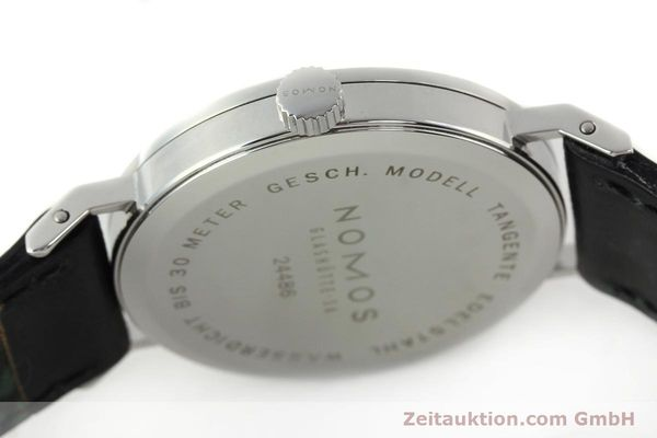 Used luxury watch Nomos Tangente steel manual winding Kal. ETA 7001  | 141627 11