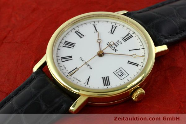 Used luxury watch Union Glashütte * gilt steel automatic Kal. ETA 2824-2  | 141629 01