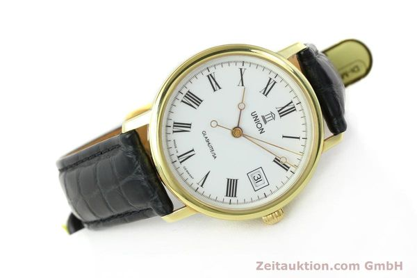 Used luxury watch Union Glashütte * gilt steel automatic Kal. ETA 2824-2  | 141629 03