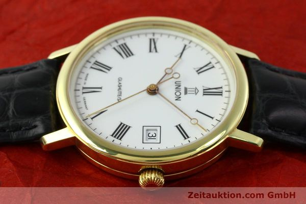 Used luxury watch Union Glashütte * gilt steel automatic Kal. ETA 2824-2  | 141629 05