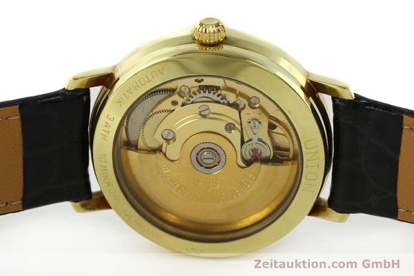 Used luxury watch Union Glashütte * gilt steel automatic Kal. ETA 2824-2  | 141629 09