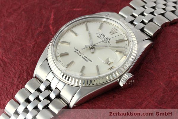 montre de luxe d occasion Rolex Datejust acier / or  automatique Kal. 1560 Ref. 1601  | 141637 01