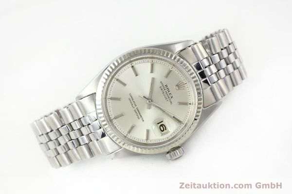 montre de luxe d occasion Rolex Datejust acier / or  automatique Kal. 1560 Ref. 1601  | 141637 03