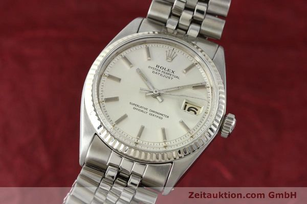 montre de luxe d occasion Rolex Datejust acier / or  automatique Kal. 1560 Ref. 1601  | 141637 04