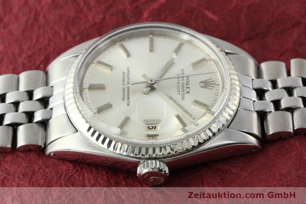 montre de luxe d occasion Rolex Datejust acier / or  automatique Kal. 1560 Ref. 1601  | 141637 05