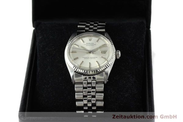 montre de luxe d occasion Rolex Datejust acier / or  automatique Kal. 1560 Ref. 1601  | 141637 07