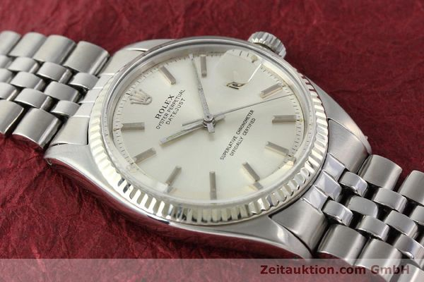 montre de luxe d occasion Rolex Datejust acier / or  automatique Kal. 1560 Ref. 1601  | 141637 14